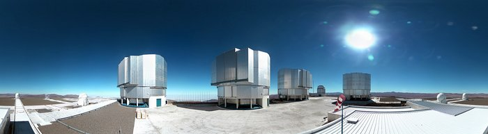 Image from panoramic webcam at Paranal