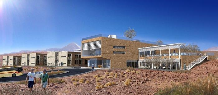 ALMA residenciaen: Facade, hovedbygningen