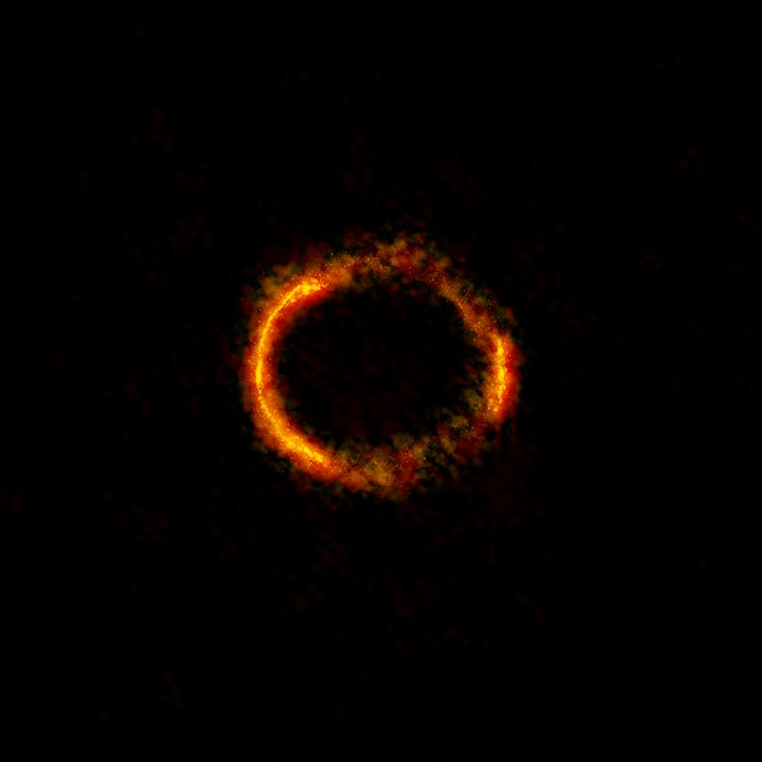 ALMA image of the gravitationally lensed galaxy SDP.81
