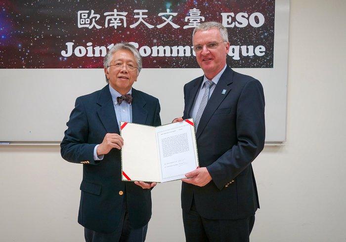 L'ESO e l'EAO firmano un comunicato congiunto