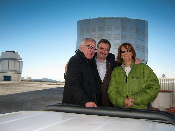 Presidente de Chile Michelle Bachelet mantiene video conferencia con el Observatorio Paranal desde Expo Milano 2015