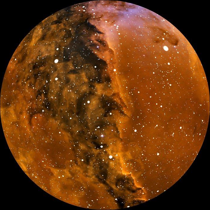 """Imagem do espectáculo para planetário """"Da Terra ao Universo"""""""
