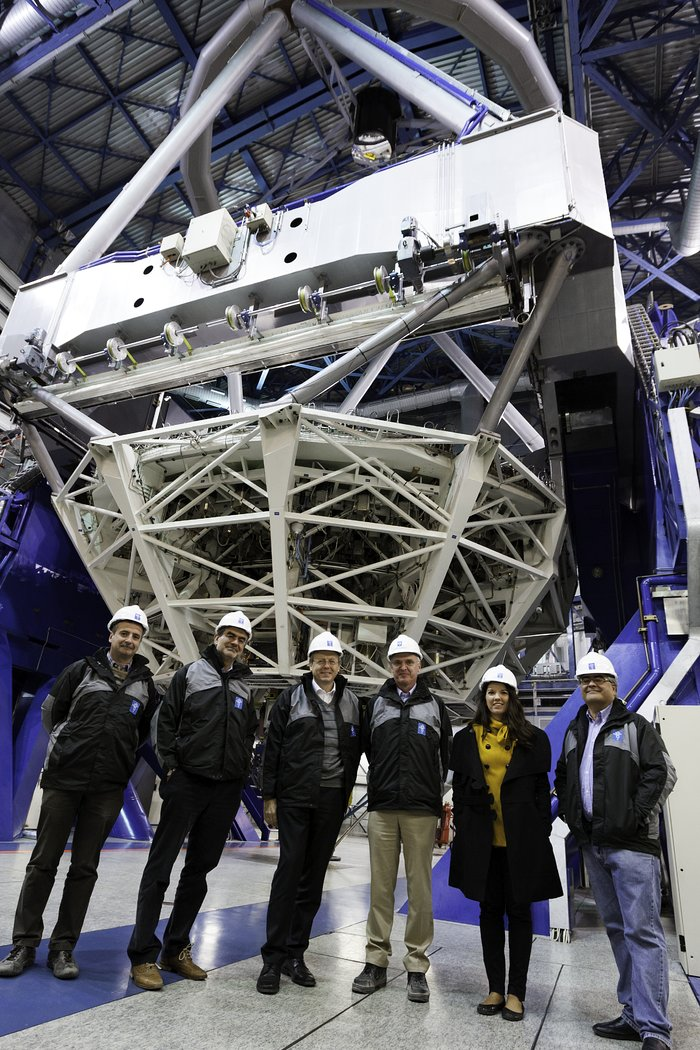 ESO and ESA Director Generals visit Paranal Observatory