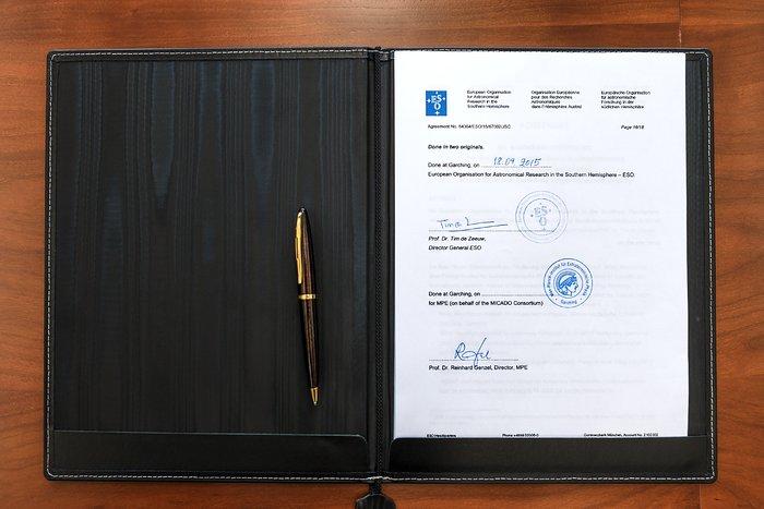MICADO aftalen er underskrevet C
