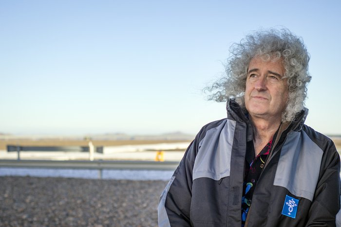 Rock star and sstrophysicist Brian May visits Paranal