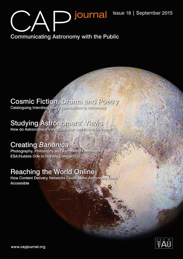 Titelseite der 18. Ausgabe vom CAPjournal