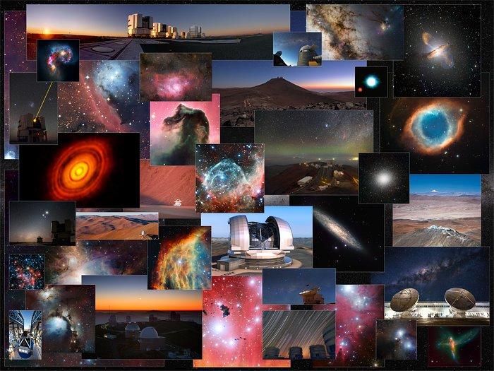 10 000 imagens gratuitas disponíveis no arquivo de imagens do ESO