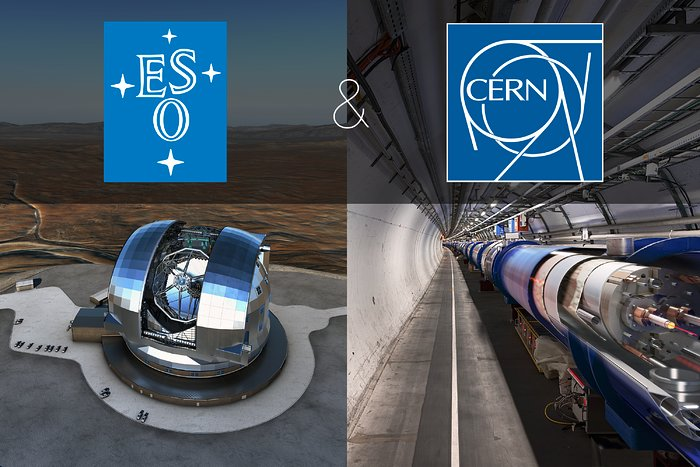 ESO e CERN assinam acordo de cooperação