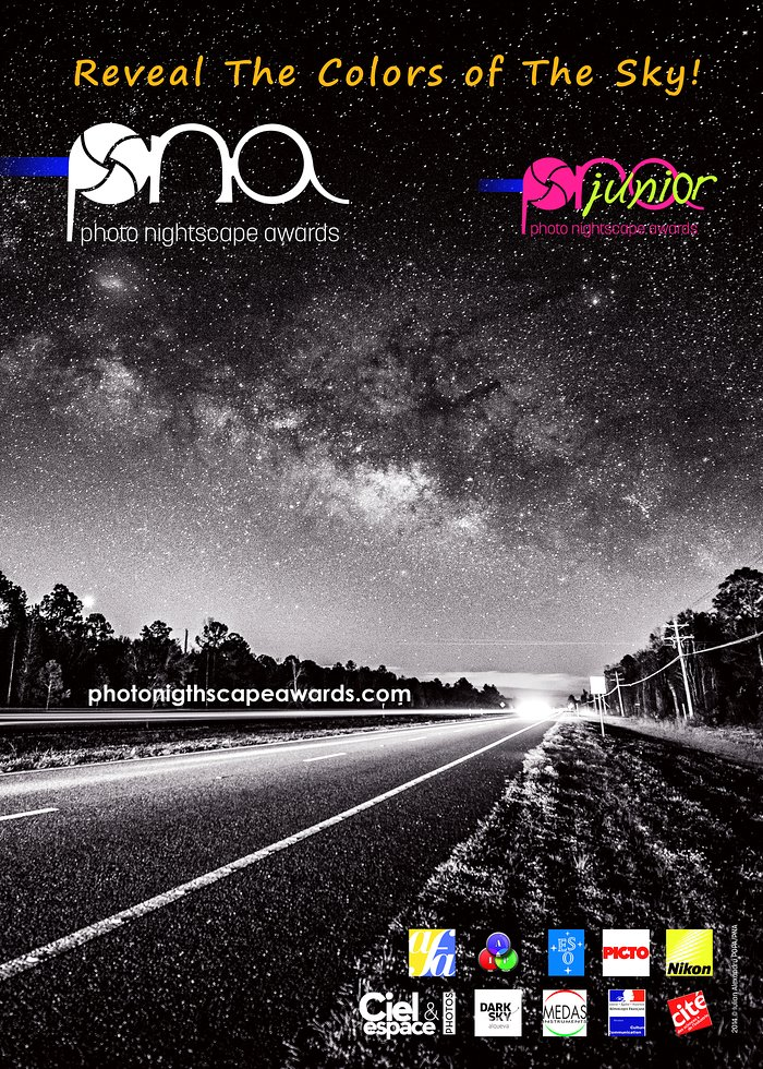 The Photo Nightscape Awards poster