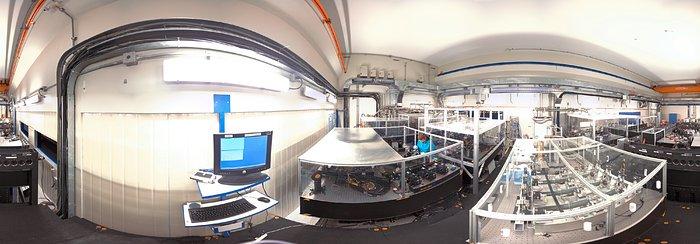 Una visione panoramica del laboratorio del VLTi