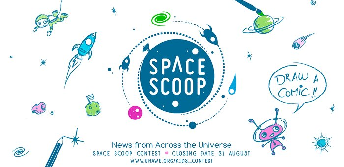 Concurso cósmico Space Scoop