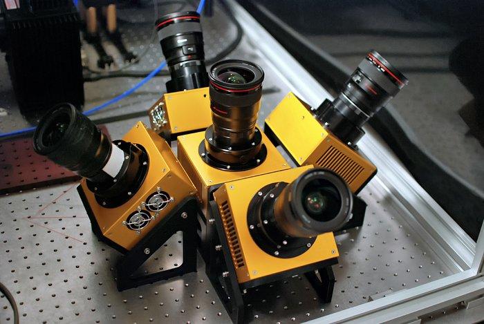Las cámaras de MASCARA