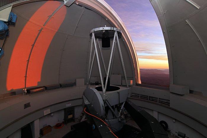 Il telescopio dell'ESO da 1 metro di diametro
