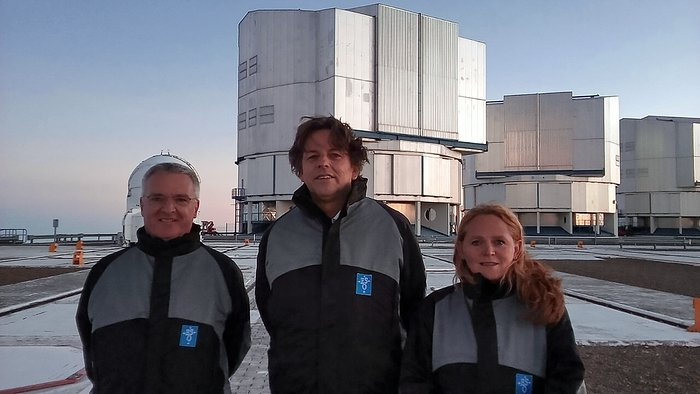 Netherlands Foreign Minister visits Paranal