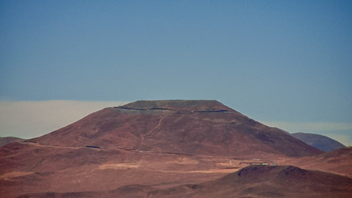 Cerro Armazones seen from Paranal with the new Paranal webcam