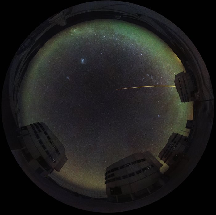Fisheye view of Paranal