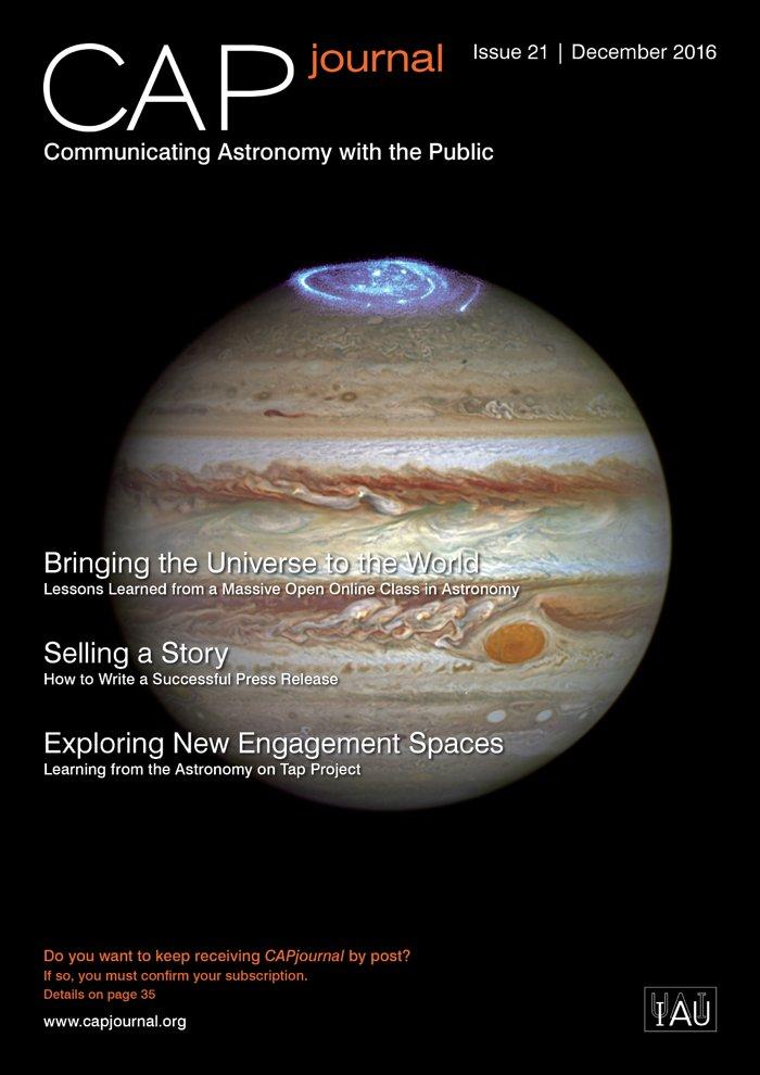 Titelseite der 21. Ausgabe vom CAPjournal
