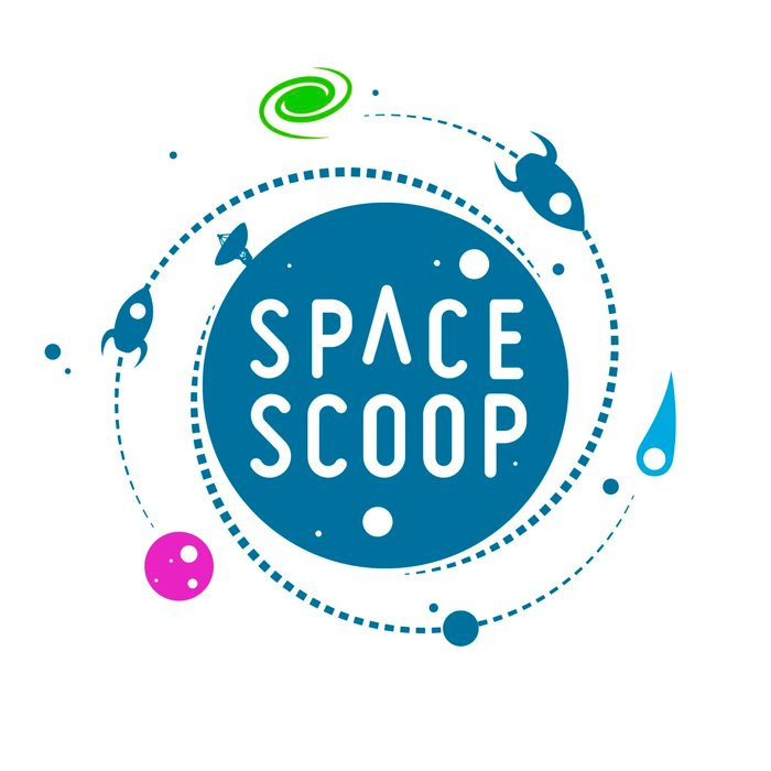 Il logo di Space Scoop
