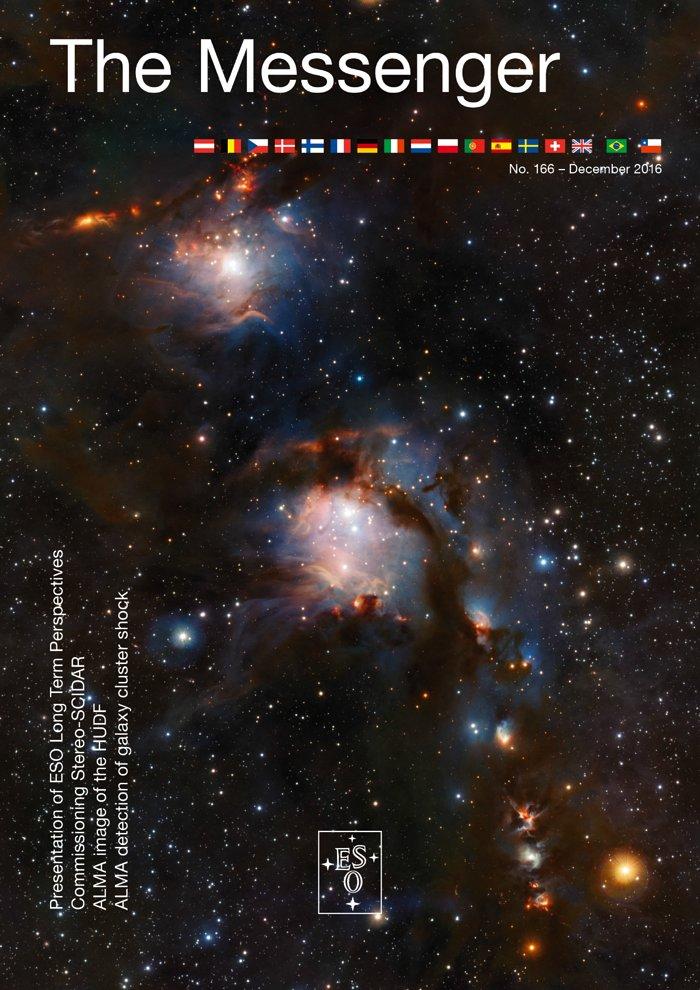 Titelseite von The Messenger Nr. 166