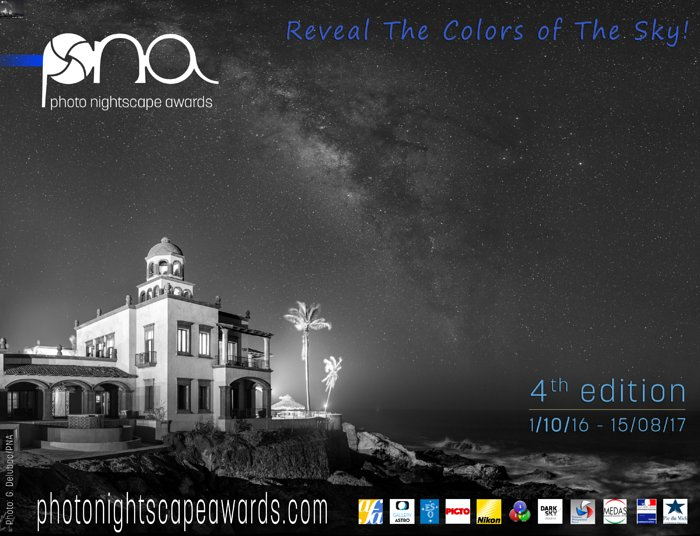 Concurso Photo Nightscape Awards 2017