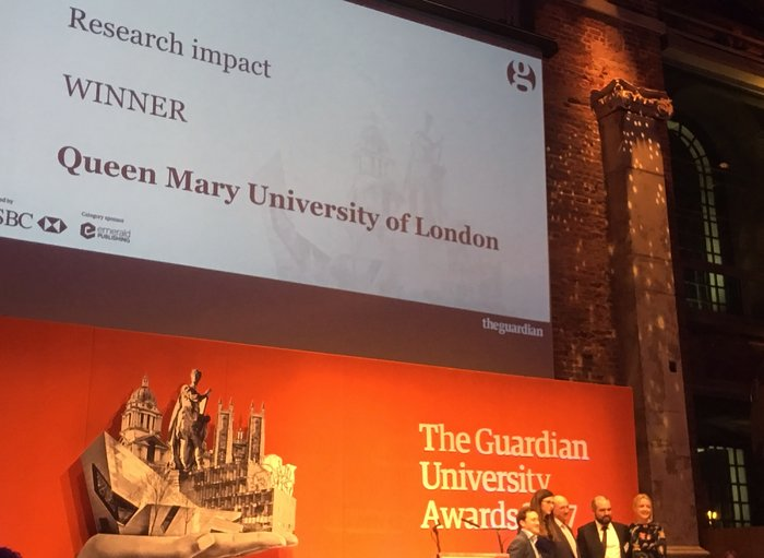 Pale Red Dot campaign wins Guardian University Award