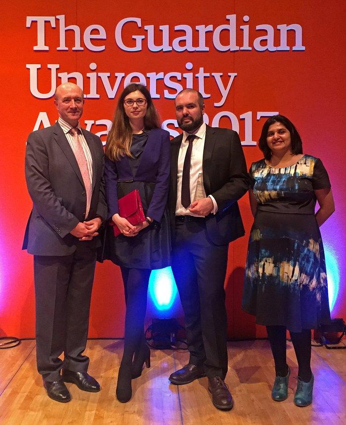 Pale Red Dot campaign wins Guardian University Award