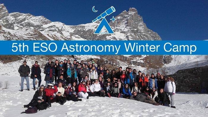 Acampamento de Astronomia ESO