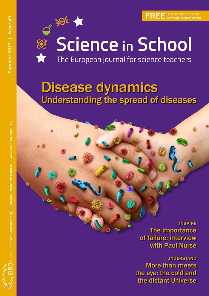 Cover of Science in School issue No.40