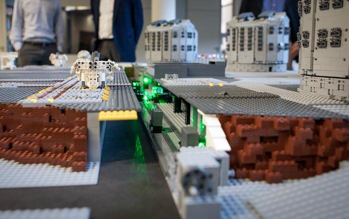 A LEGO® interferometer!