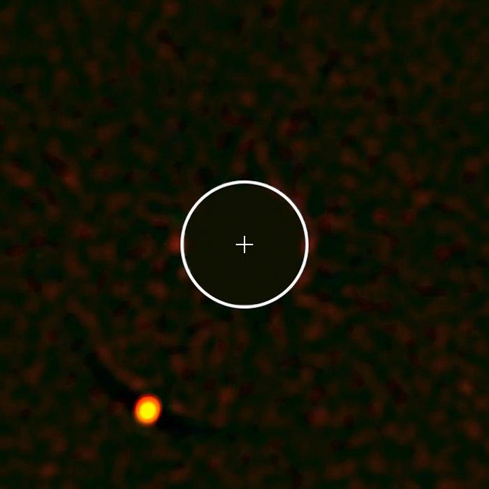 De bijzondere exoplaneet HIP 65426b, zoals gezien door SPHERE