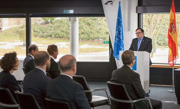 Cerimônia de assinatura do contrato para a Estação Pré-focal do ELT