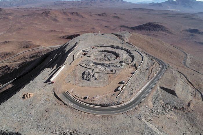 Iniziati i lavori per le fondamenta dell'ELT sul Cerro Armazones