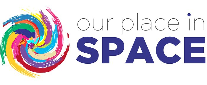 Logo della mostra Our Place in Space