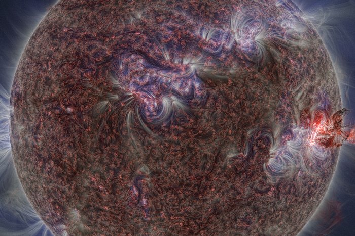 Image from The Sun, Our Living Star