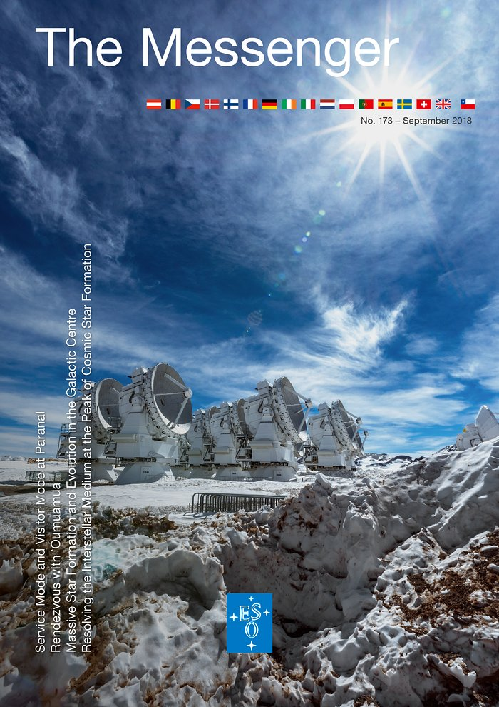 Cover of Messenger 173