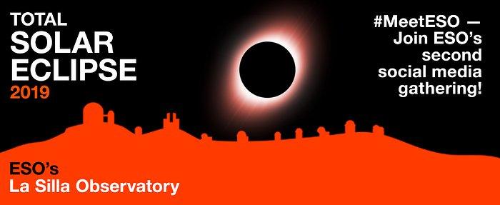 Segundo #MeetESO por ocasião do eclipse total do Sol de 2019