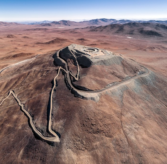 Construction site of the Extremely Large Telescope