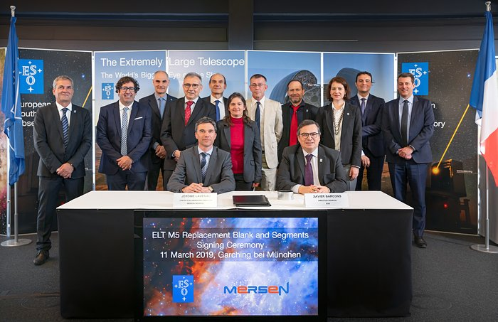 Contract signed for ELT M5 Mirror