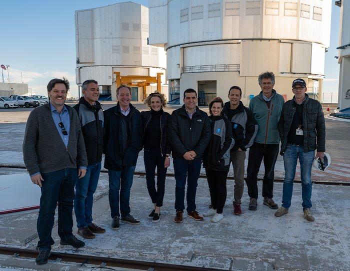 Paranal Observatory hosts Microsoft President