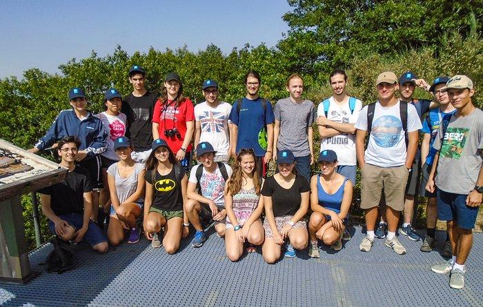 Participantes do AstroCamp de verão