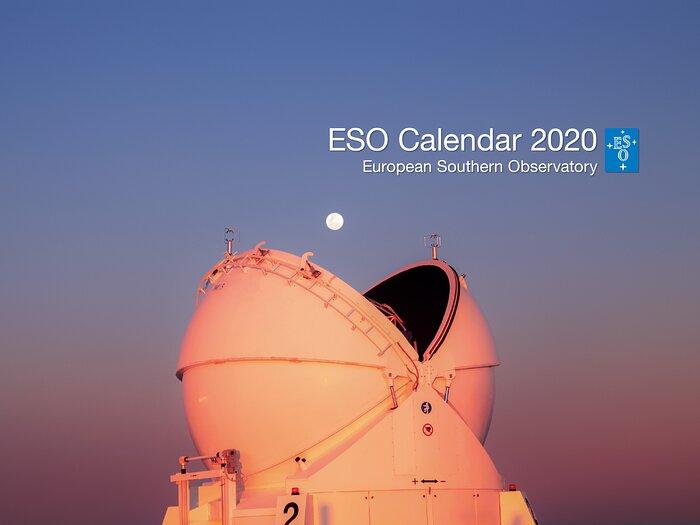 Titelblatt des ESO-Kalenders 2020