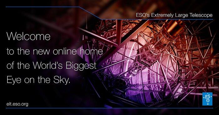 Willkommen auf elt.eso.org