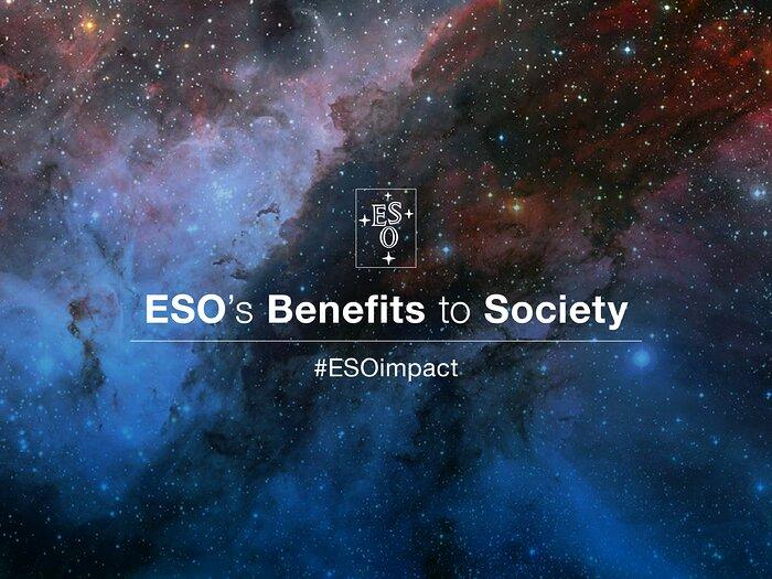 Hashtag Benefícios do ESO para a Sociedade