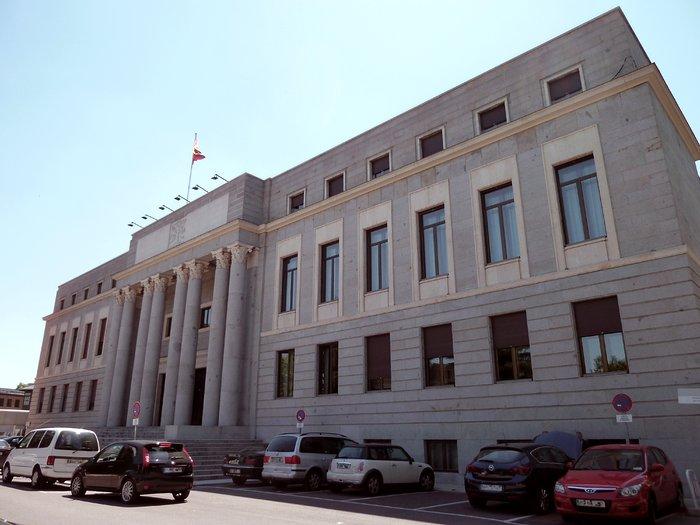 Fachada del edificio central del CSIC