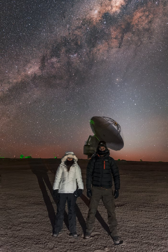 Portuguese astrophotographer visits ESO Observatories in Chile