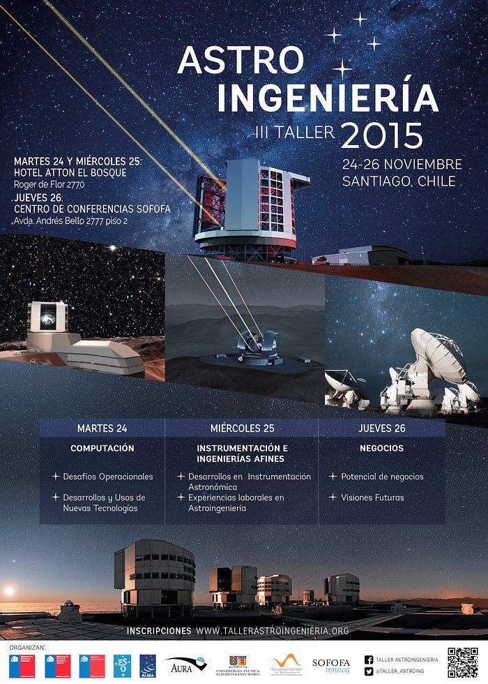 Poster del III Taller de Astroingeniería