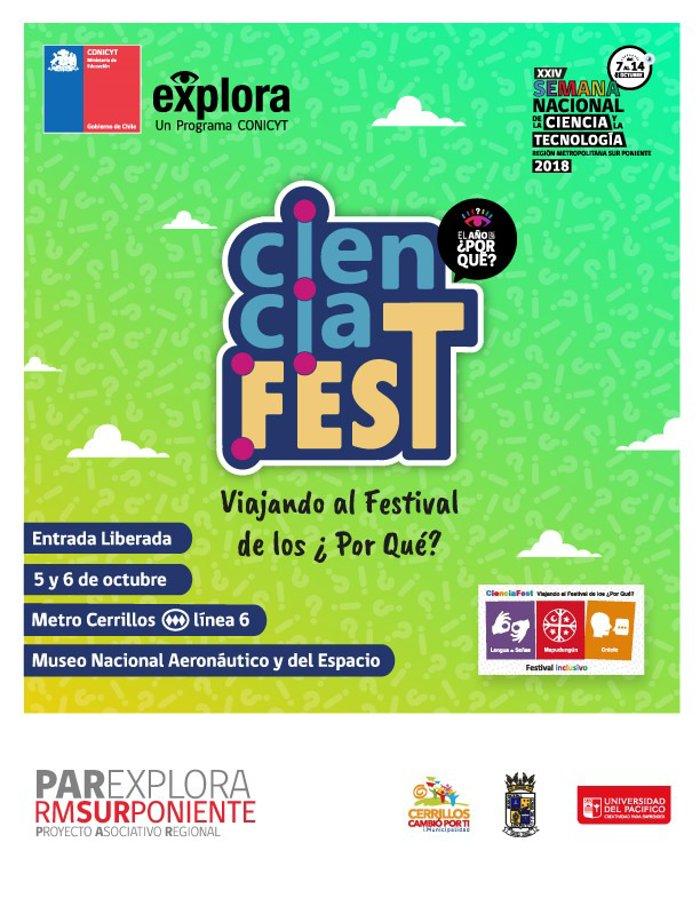 CienciaFEST: Viajando al festival de los ¿Por Qué?