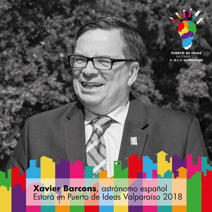 Participación de Xavier Barcons, Director General de ESO, a Puerto de Ideas Valparaíso 2018