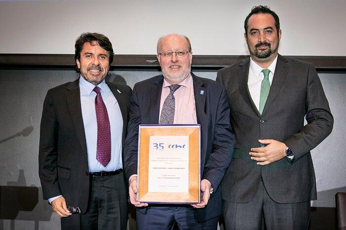 Ceremonia de premiación CChC Antofagasta