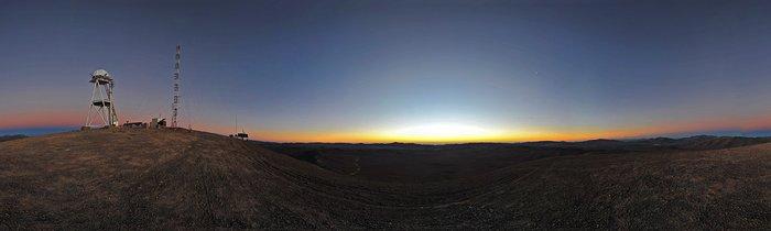 Dämmerung am Cerro Armazones